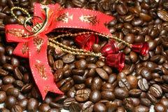 украшение кофе рождества Стоковое Изображение RF