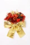 Украшение красного цвета рождества Стоковые Изображения