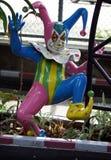 Украшение клоуна Стоковые Изображения