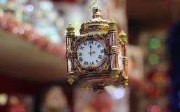Украшение Лондона башни с часами орнамента рождества Стоковые Фотографии RF