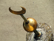 Украшение минарета Moorish стоковые фотографии rf