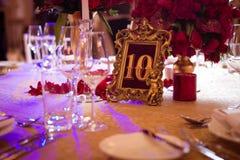 Украшение на день свадьбы Стоковые Изображения RF