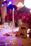 Украшение на день свадьбы Стоковая Фотография