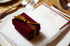Украшение на день свадьбы Стоковая Фотография RF