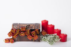 Украшение Новых Годов и рождества Стоковое фото RF