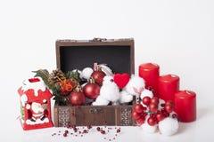 Украшение Новых Годов и рождества Стоковые Изображения