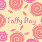 Украшение дня Taffy Стоковые Фото
