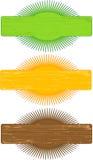украшение обрамляет овал Стоковые Изображения RF