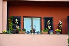 Украшение окна Стоковое Изображение RF