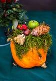 Украшение осени floristic Стоковая Фотография RF