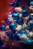 Украшение оформления орнамента рождества Стоковое Изображение RF