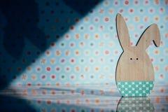 Украшение пасхи с пастельными цветами Стоковое фото RF