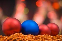 украшение покрашенное рождеством Стоковые Фотографии RF