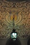 украшение потолка Стоковое Фото