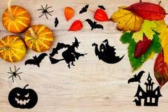 Украшение праздника хеллоуина стоковая фотография