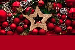 Украшение пришествия с горя свечой звезды абстрактной картины конструкции украшения рождества предпосылки темной красные белые стоковое изображение
