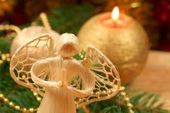 украшение рождества ангела Стоковые Изображения RF