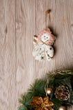Украшение рождества - ангел стоковые изображения