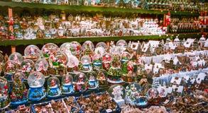Украшение рождества в рынке Зальцбурга стоковое изображение rf