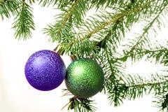 украшение рождества изолировало вал Стоковые Фотографии RF