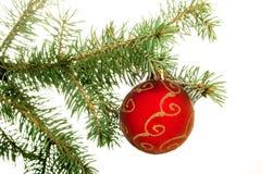 украшение рождества изолировало вал Стоковые Изображения