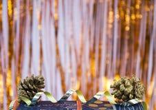 украшение рождества курчавое Стоковые Фотографии RF