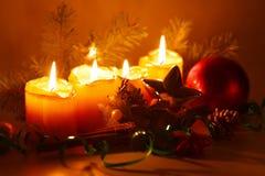 Украшение рождества. Пришествие. Стоковое Фото