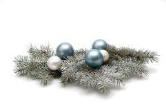 украшение рождества снежное Стоковое Изображение RF