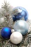 украшение рождества снежное Стоковая Фотография