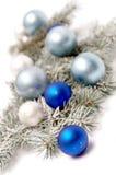 украшение рождества снежное Стоковое Изображение
