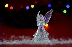 Украшение рождества с ароматичными свечами стоковая фотография rf