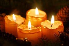 Украшение рождества, четвертое пришествие Стоковые Фотографии RF