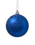украшение рождества шарика голубое Стоковое Изображение RF