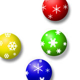 украшение рождества шарика Стоковое фото RF