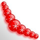 украшение рождества шарика иллюстрация штока