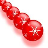 украшение рождества шарика иллюстрация вектора