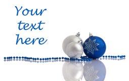 украшение рождества шариков шариков Стоковая Фотография