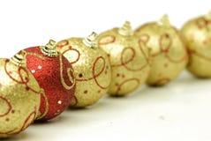 украшение рождества шариков Стоковое Изображение RF