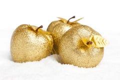 украшение рождества яблок Стоковая Фотография