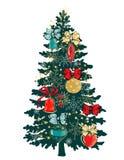 украшение рождества 2 Стоковое Изображение