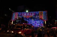 Украшение рождества в Medellin Стоковые Фотографии RF