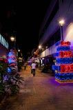 Украшение рождества в Medellin Стоковые Изображения
