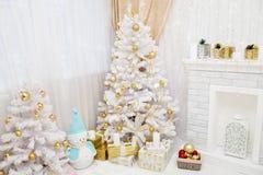 Украшение рождества залы Новый Год Стоковые Фотографии RF