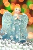 Украшение рождества, диаграмма голубого ангела Стоковая Фотография RF
