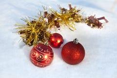 Украшение рождества орнамента Стоковая Фотография RF
