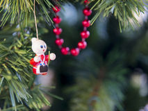 Украшение рождественской елки стоковое изображение
