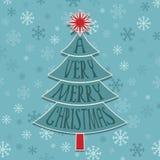 Украшение рождественской елки иллюстрация штока
