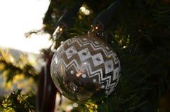 Украшение рождественской елки Стоковые Изображения