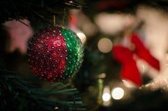 Украшение рождественской елки Стоковое Фото