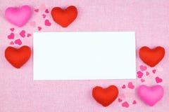 украшение романтичное, valentine& x27 St; концепция дня s, взгляд сверху fla Стоковые Фотографии RF